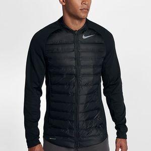 Nike Golf Aeroloft Hyperadapt Men's Jacket Black Performance Coat Medium